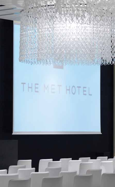 Zeppos being the head architect, has created The Met Hotel, a new and