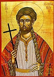 The holy, glorious New Martyr Constantine of Hydra Τοῦ Ἁγίου ἐνδόξου Νεοµάρτυρος Κωνσταντίνου τοῦ Ὑδραίου November 14 Saint Constantine of Hydra lived in the years of Ottoman rule, born and raised on