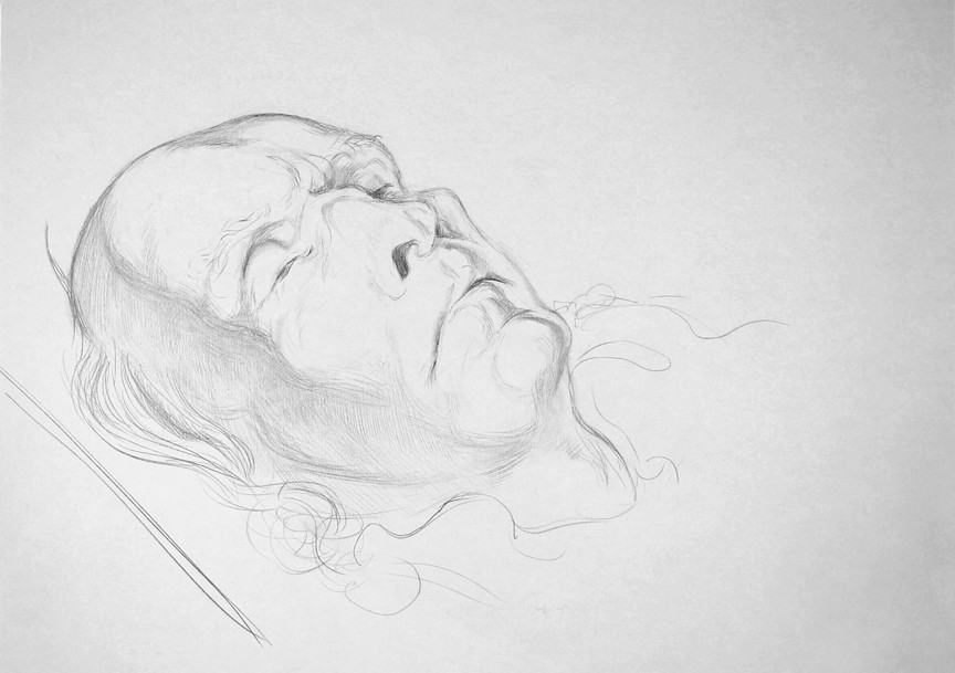 Drawing by Michael Taylor There will be a retiring collection at the end of the service for a John Tavener Memorial Fund which is being set up to benefit creative and intellectual endeavours close to