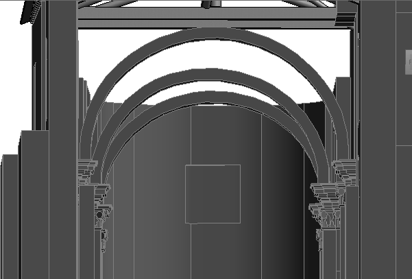 A really important part of the roof elements are the three vaults, as it has been described in chapter 1.