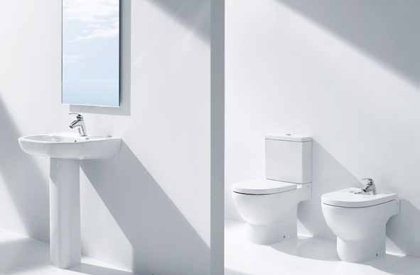 Meridian New 1201440741 ΛΕΚΑΝΗ Χ/Π DUAL 64,5cm WC BOWL DUAL OUTLET 262,00 1201440742 KAZANAKI Χ/Π ME ΜΗΧΑΝΙΣΜΟ 3/6Ltr. CISTERN WITH MECHANISM 3/6Ltr.