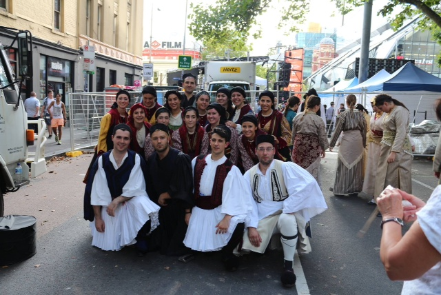 Our senior group par cipated at the An podes Fes val in Melbourne on 14th and 15th February and also had a workshop and performance at the Migra on Museum on Sunday