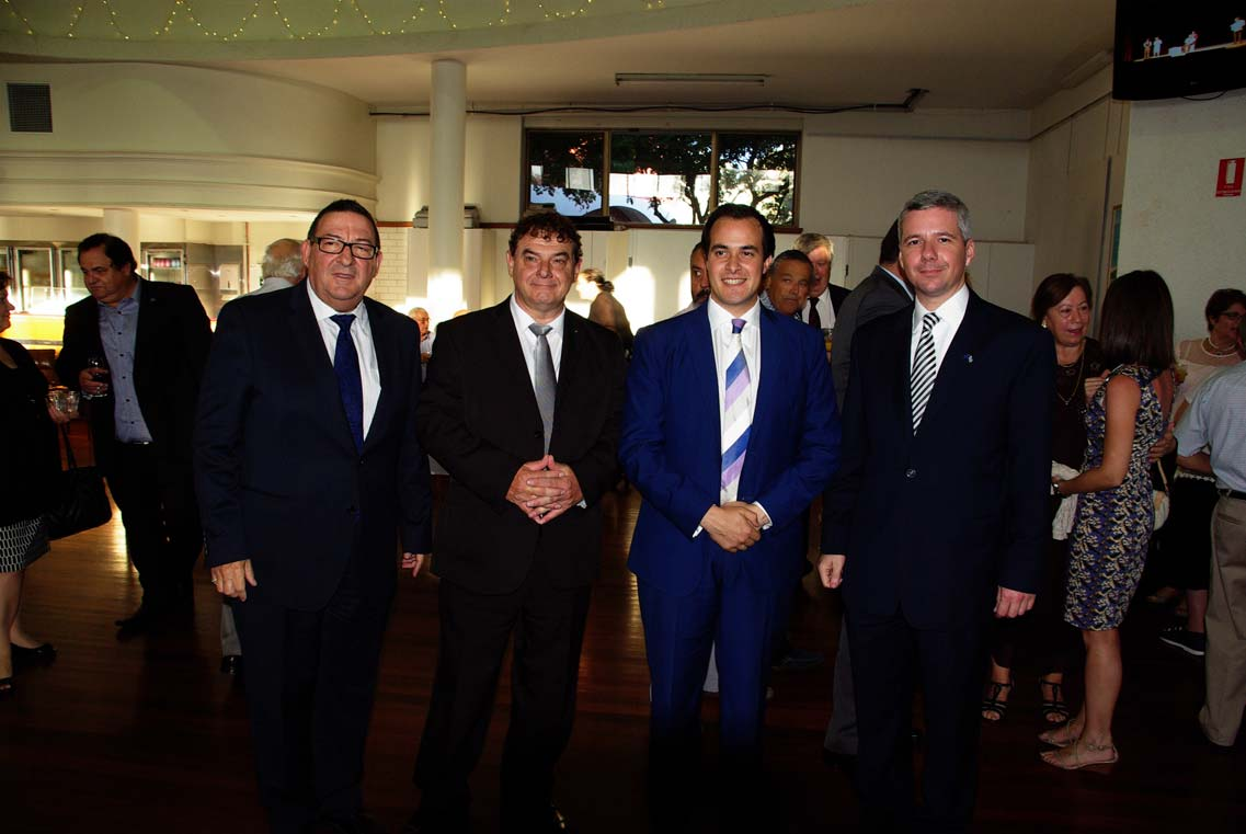 New Consul General visits the Greek Community T he Greek Orthodox Community of S.
