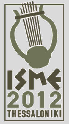 Conference Abstracts ISME Commission on Music in Special Education, Music Therapy and Music Medicine 12-14 July 2012, Greece The ISME Commission on Music in Special Education, Music Therapy and Music