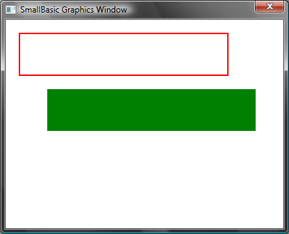 "GraphicsWindow.BrushColor = ""Green"" GraphicsWindow."