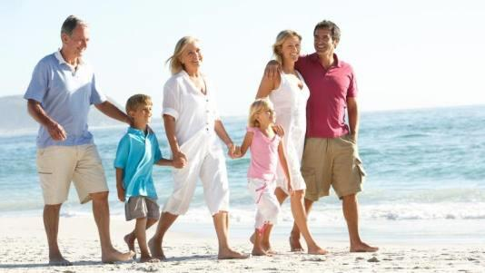 #5 Multi-Generational Travel Families travel together.