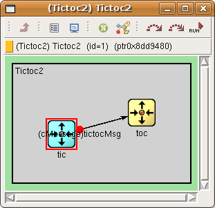 // Use cyan for `tic', and yellow for `toc'.