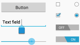 Input controls are the interactive components in your app's user interface.