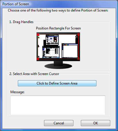 45 PORTION OF SCREEN AREA ΤΜΗΜΑ ΟΘΟΝΗΣ MODE DETAILSνα dialog box youστην to define portion of displayη The trackingpen options PENσας Οι επιλογές MODEinDETAILS επιτρέπουν ορίσετε τοallow κομμάτι