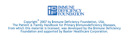 INTERNATIONAL PATIENT ORGANISATION FOR PRIMARY IMMUNODEFICIENCIES www.ipopi.org info@ipopi.