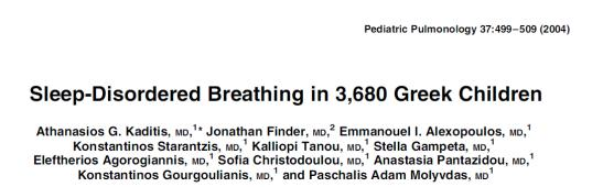 Arens et al. Changes in Upper Airway Size during Tidal Breathing in Children with OSAS.