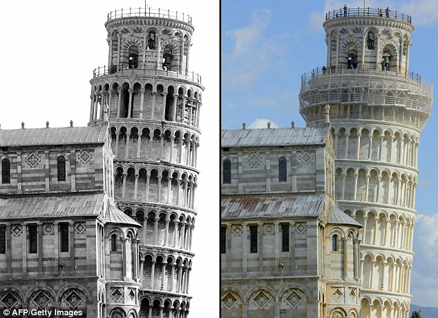 Leaning Tower of Pisa is going straight For centuries the Leaning Tower of Pisa has defied gravity but now it seems it is losing some of its tilt.