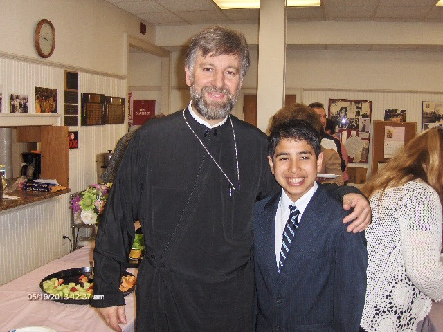 Happy Birthday to Father Nikolaos who shares his