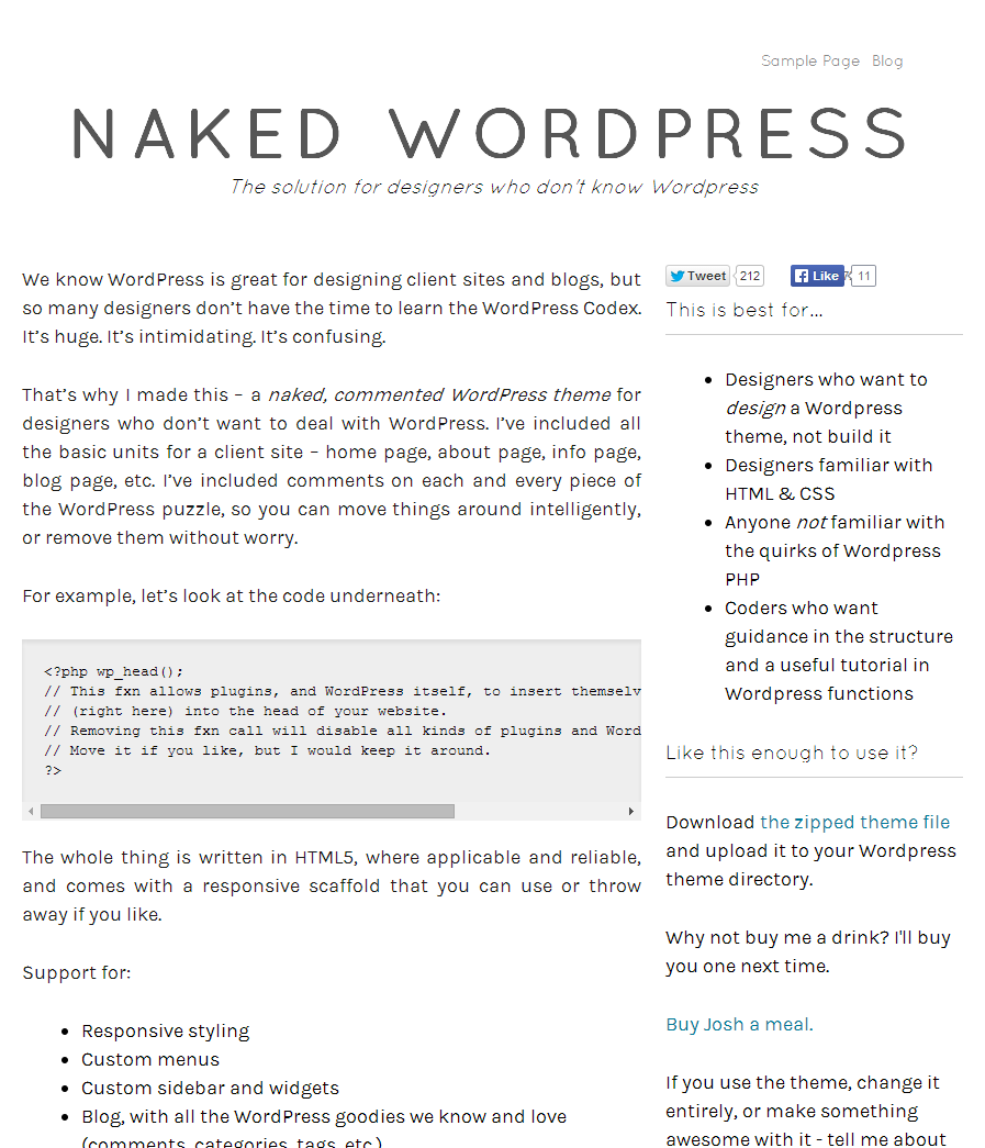 http://naked-wordpress.