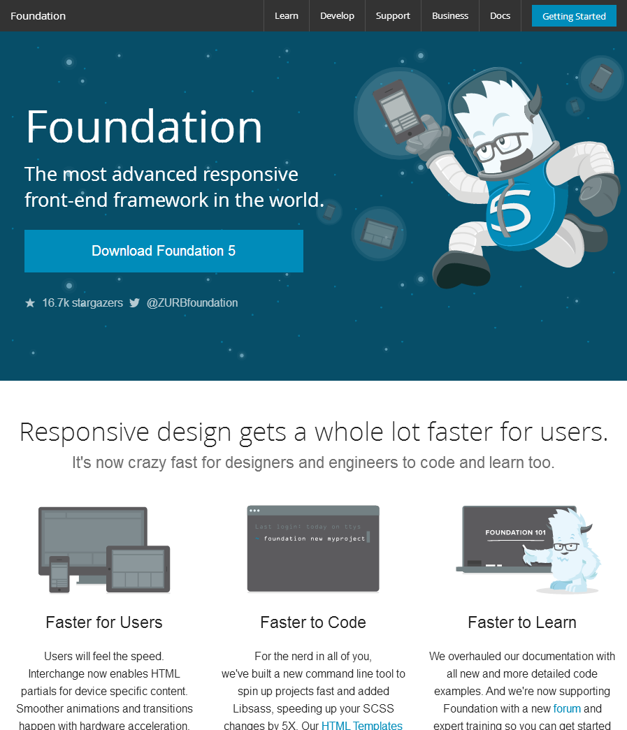 Zurb Foundation http://foundation.zurb.