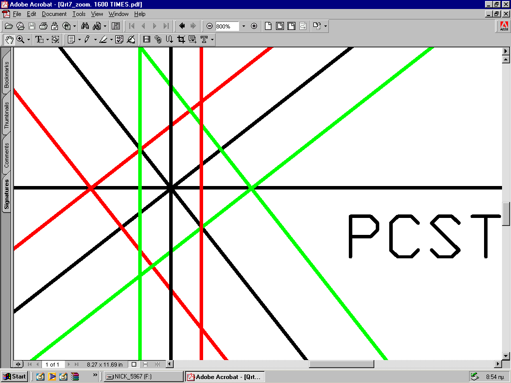 25 PCST GEOMETRY Copyright 1986-2012 Eur Ing P.