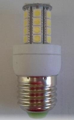 SMD PRODUCTS GL-LBH25 Base : E27 Lumen : 720 lm Beam Angle: 360 Color Temperature: 3.000K ~ 6.000 º K Watt : 8W / 85-265VAC Dimension : Φ43Χ 117mm Life span : 35.