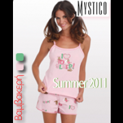 MYSTICO Βαμβακερή Φόρμα - Πυτζάμα http://store.kapetanis.com/nightware/mystico-nightware-cotton-262951.