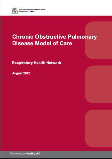 The WAChronic Respiratory Disease Service Improvement Framework (CSIF) sets out the