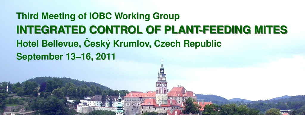 "June 22-25, 2011 Ecological Impact of Genetically Modified Organisms (EIGMO), 5th meeting of the IOBC/WPRS Working Group ""GMOs in Integrated Plant production"", České Budějovice, Czech Republic."