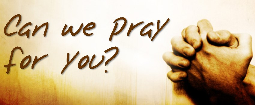 PRAYER LIST If you would like us to remember you or your loved one in our prayers, please contact the church office.