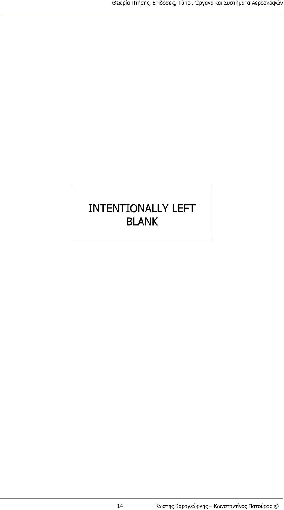 INTENTIONALLY LEFT BLANK 14