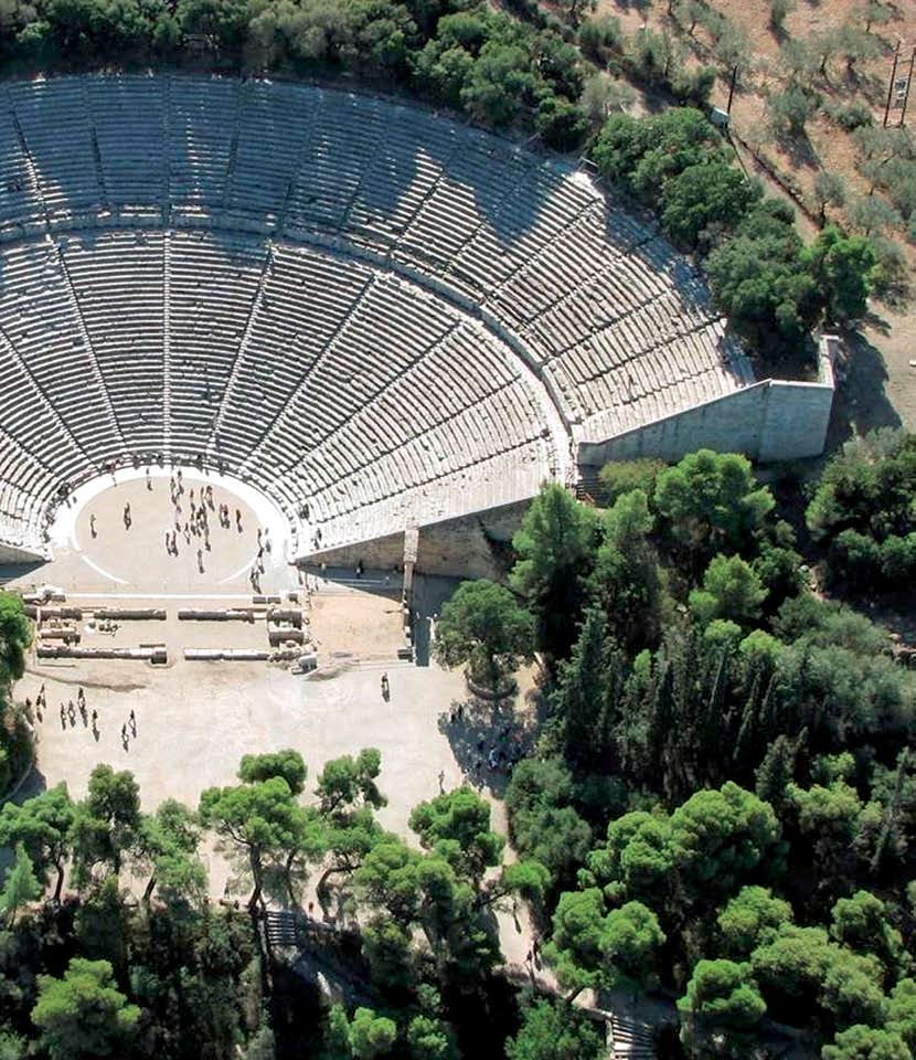 The Ancient Theaters Of Greece The ancient theaters and odeons were
