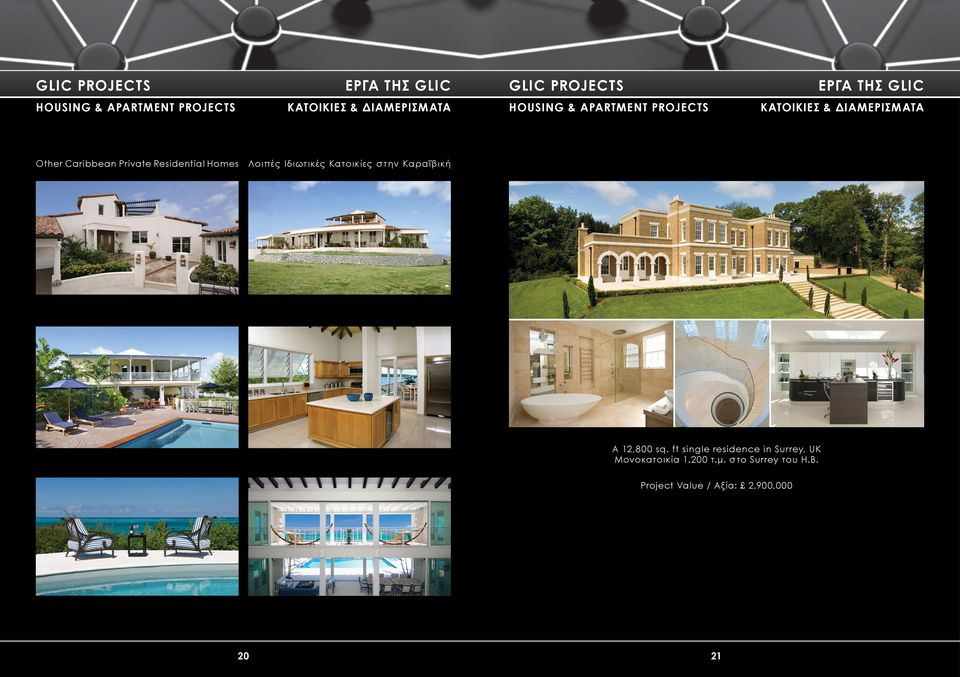 Caribbean Private Residential Homes Λοιπές Ιδιωτικές Κατοικίες στην Καραϊβική A 12,800 sq.