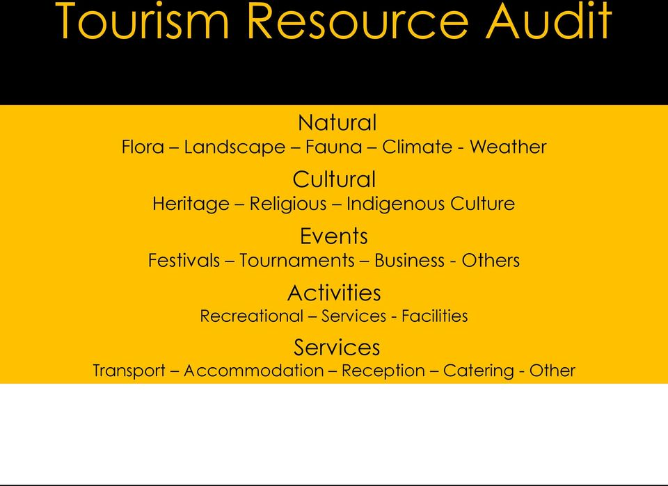 Festivals Tournaments Business - Others Activities Recreational