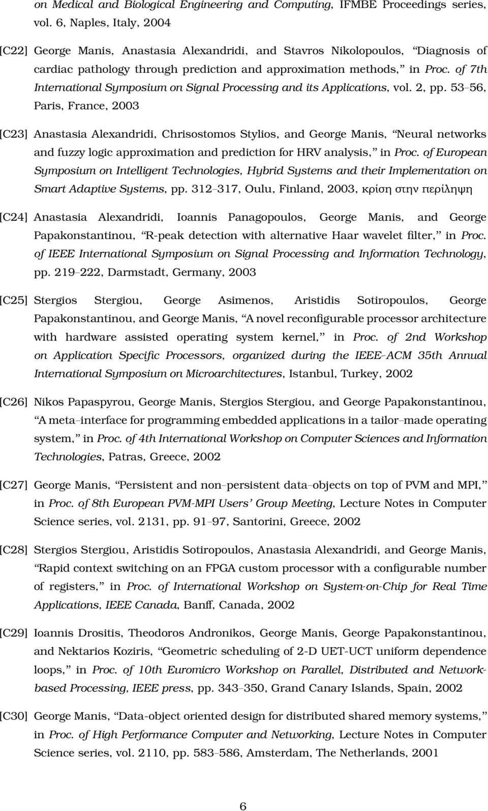 of 7th International Symposium on Signal Processing and its Applications, vol. 2, pp.