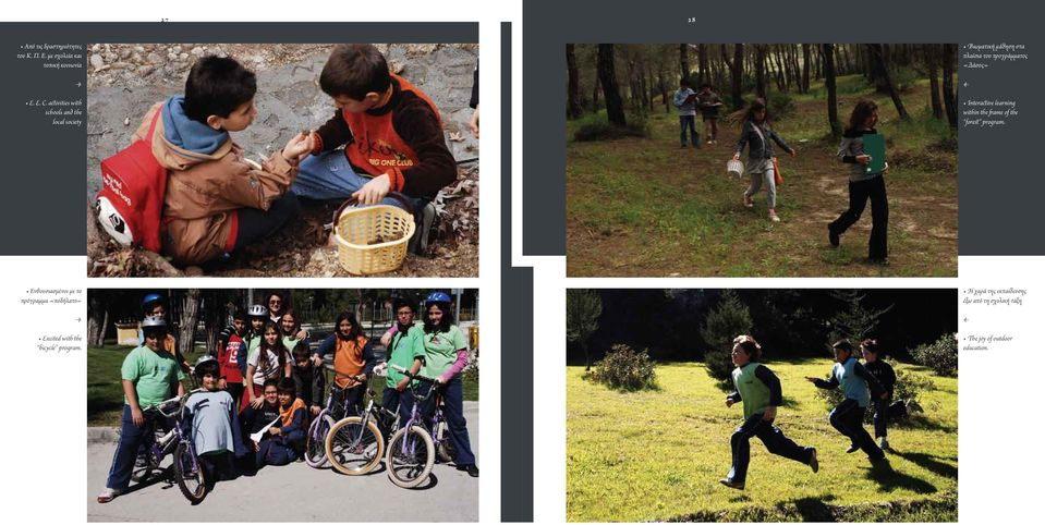 «Δάσος» Interactive learning within the frame of the forest program Ενθουσιασμένοι με το