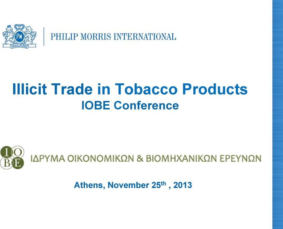 IOBE Conference