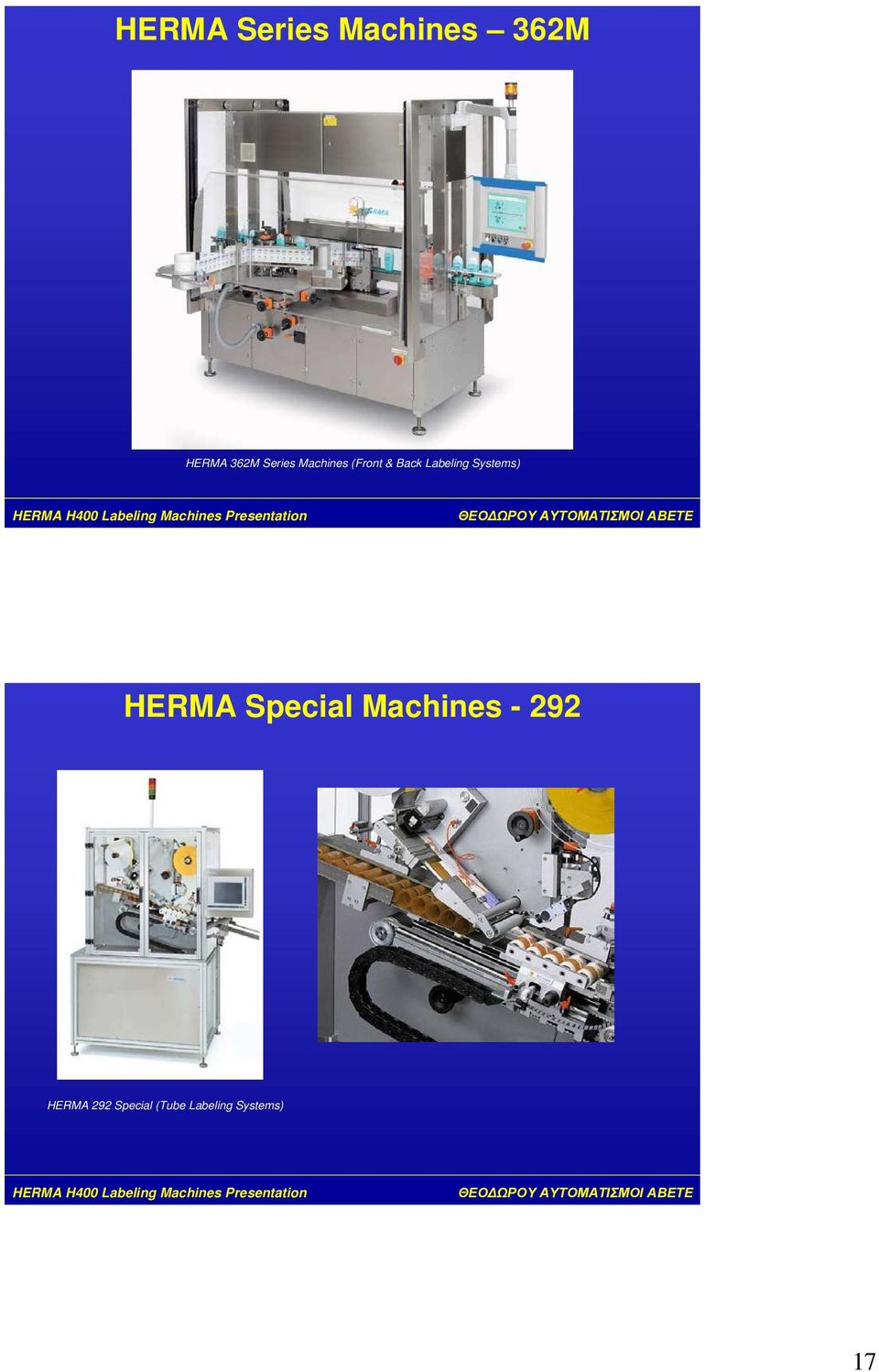 Systems) HERMA Special Machines - 292