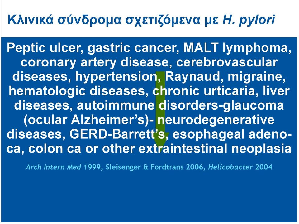 hypertension, Raynaud, migraine, hematologic diseases, chronic urticaria, liver diseases, autoimmune