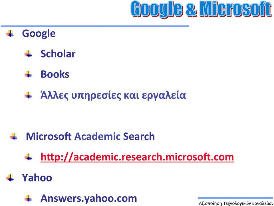Microso Academic Search!