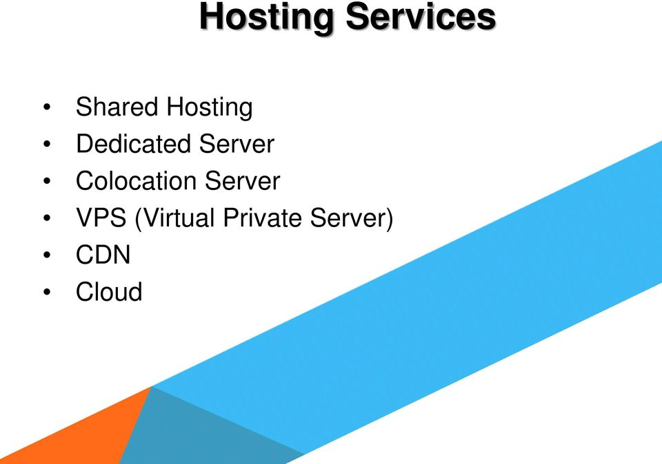 Colocation Server VPS
