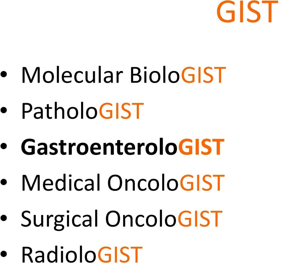 GastroenteroloGIST Medical
