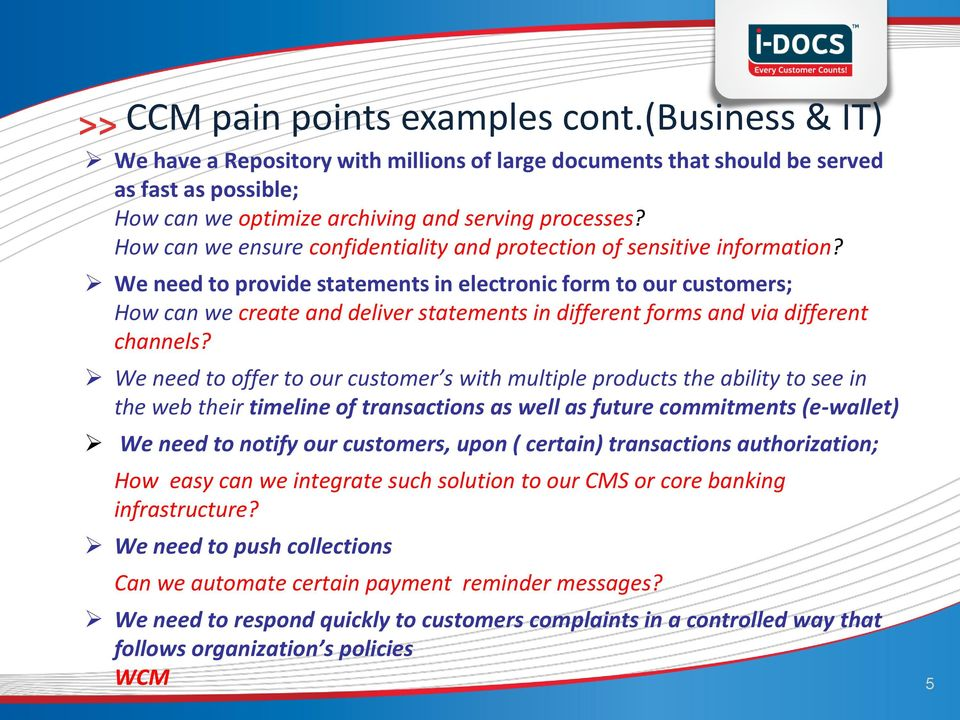 We need to provide statements in electronic form to our customers; How can we create and deliver statements in different forms and via different channels?