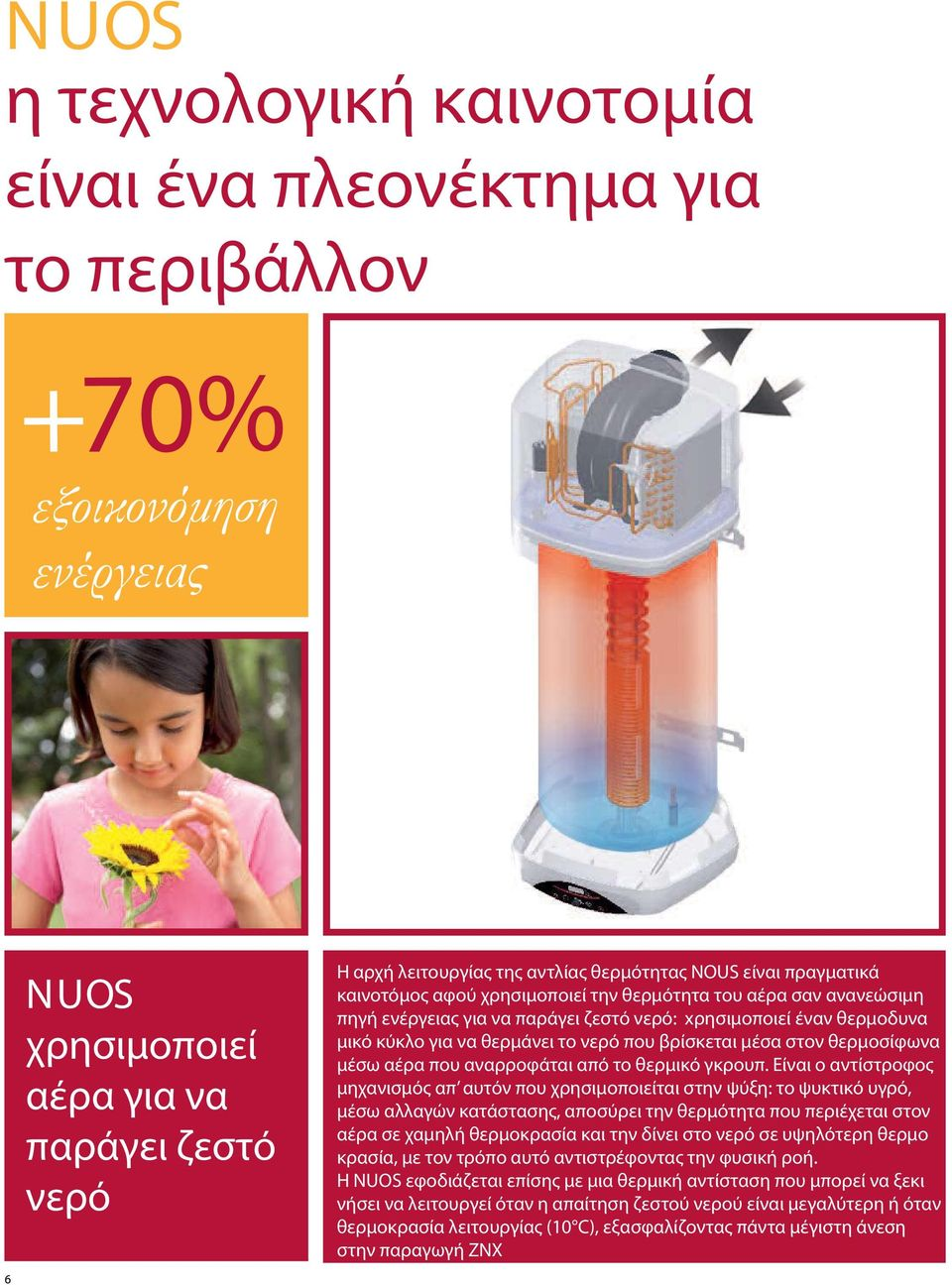 produce σαν ανανεώσιμη hot water: πηγή it uses ενέργειας a thermodynamic για να παράγει cycle to ζεστό heatνερό: the water xρησιμοποιεί contained inside έναν θερμοδυνα the heater μικό through κύκλο