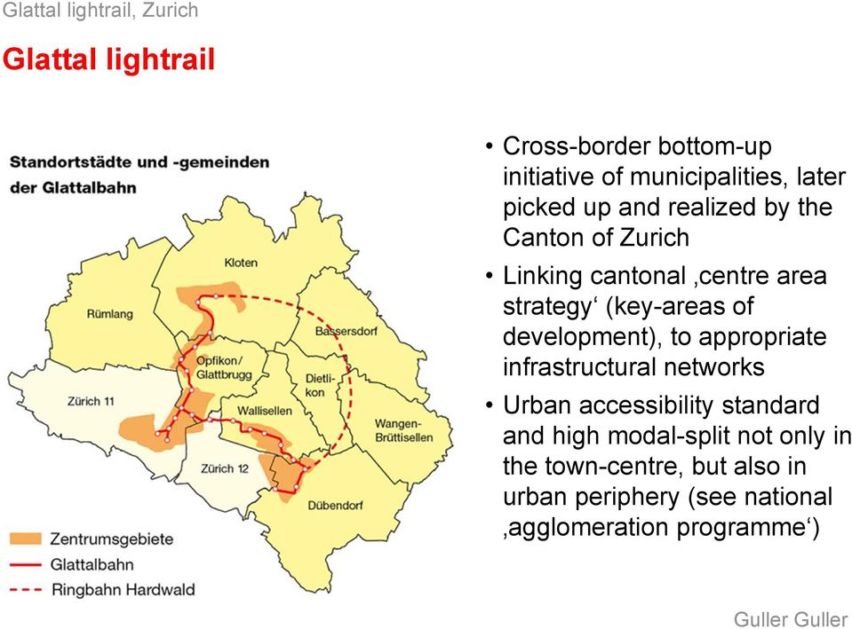 development), to appropriate infrastructural networks Urban accessibility standard and high modal-split