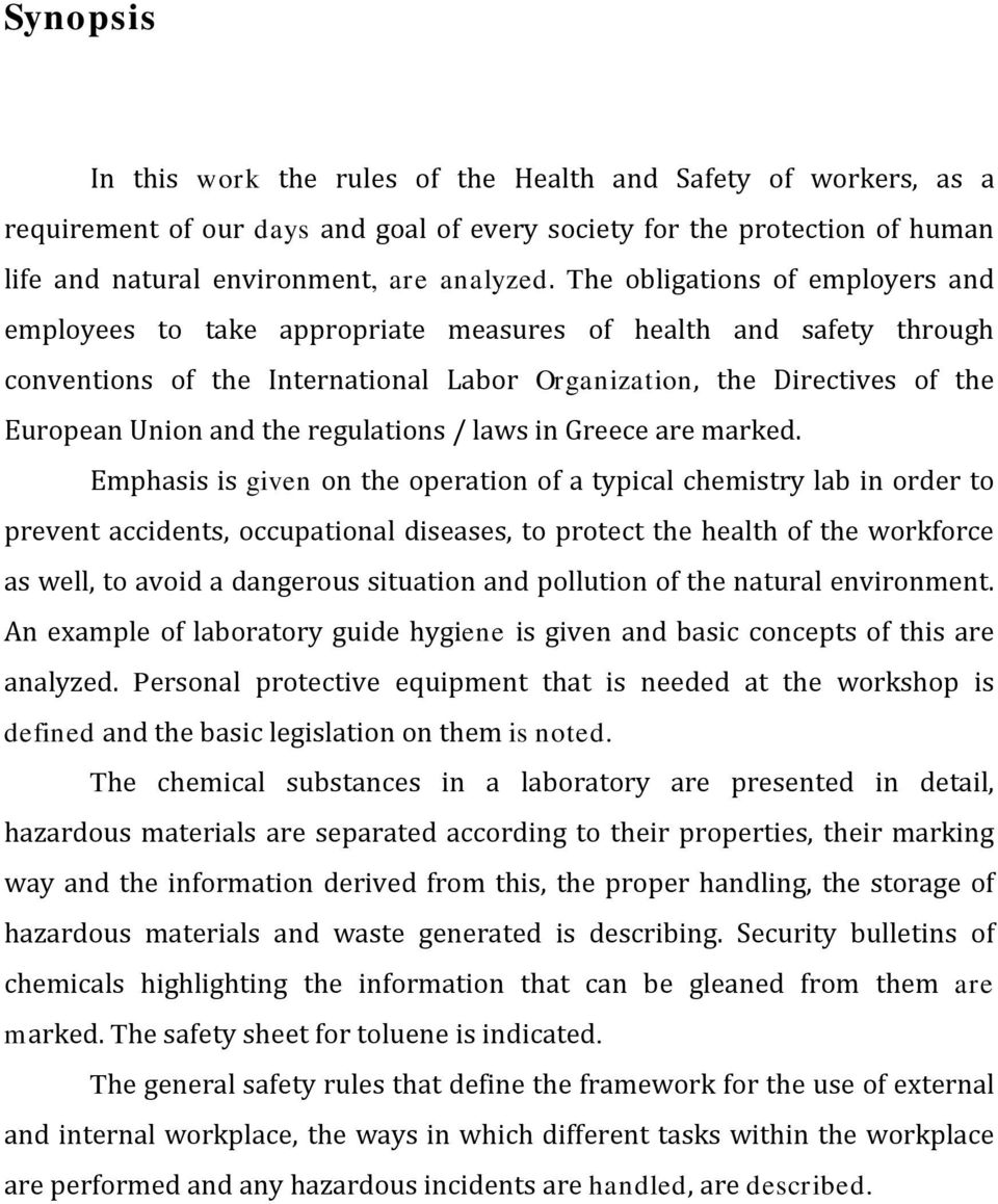 regulations / laws in Greece are marked.