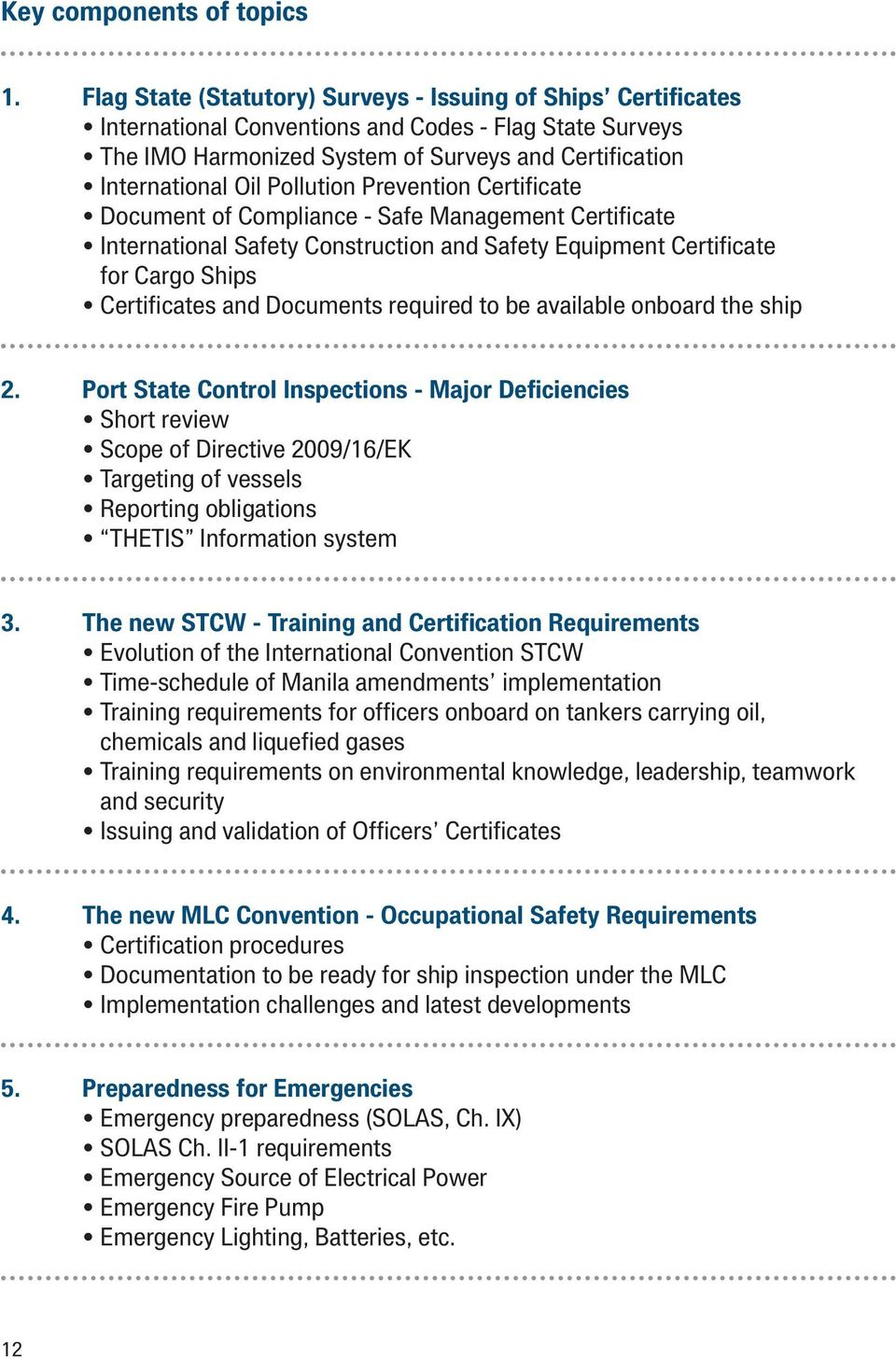 Pollution Prevention Certificate Document of Compliance - Safe Management Certificate International Safety Construction and Safety Equipment Certificate for Cargo Ships Certificates and Documents