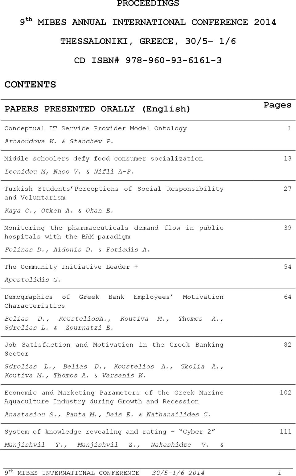 Turkish Students Perceptions of Social Responsibility and Voluntarism Pages 1 13 27 Kaya C., Otken A. & Okan E.