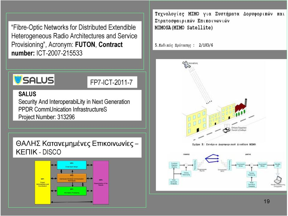 FP7-ICT-2011-7 SALUS Security And InteroperabiLity in Next Generation PPDR