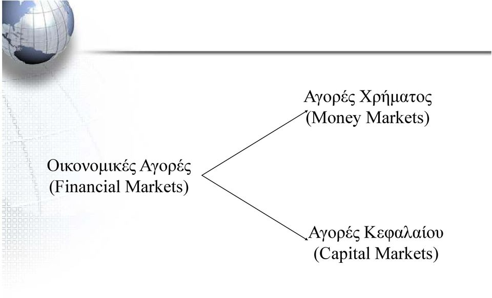 Αγορές (Financial Markets)