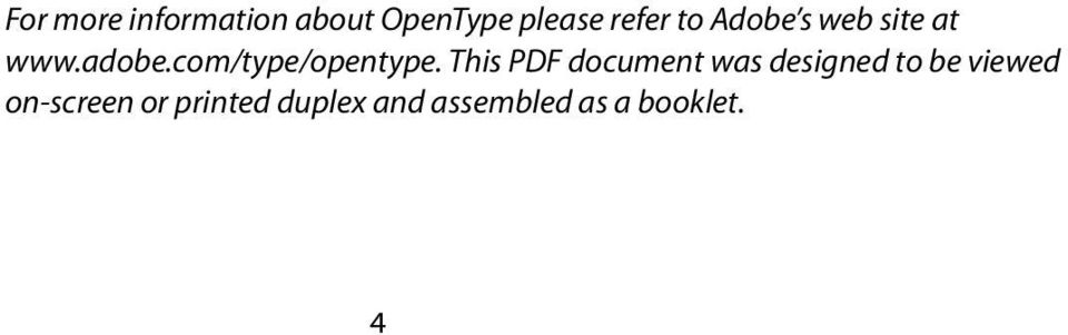This PDF document was designed to be viewed