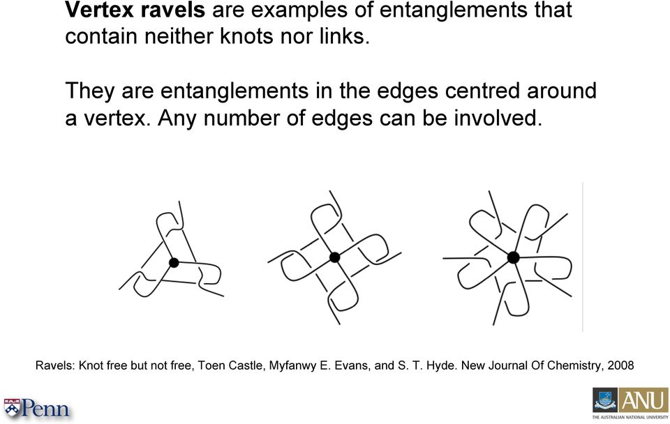 Any number of edges can be involved.