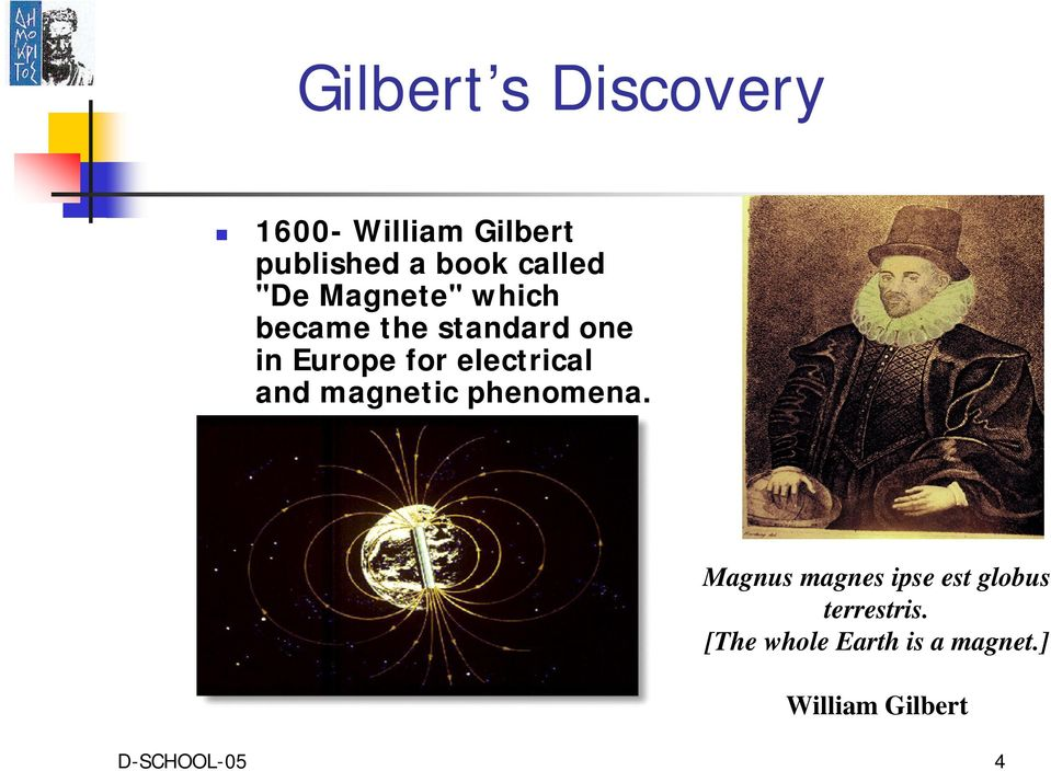electrical and magnetic phenomena.