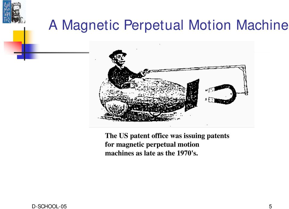 patents for magnetic perpetual motion