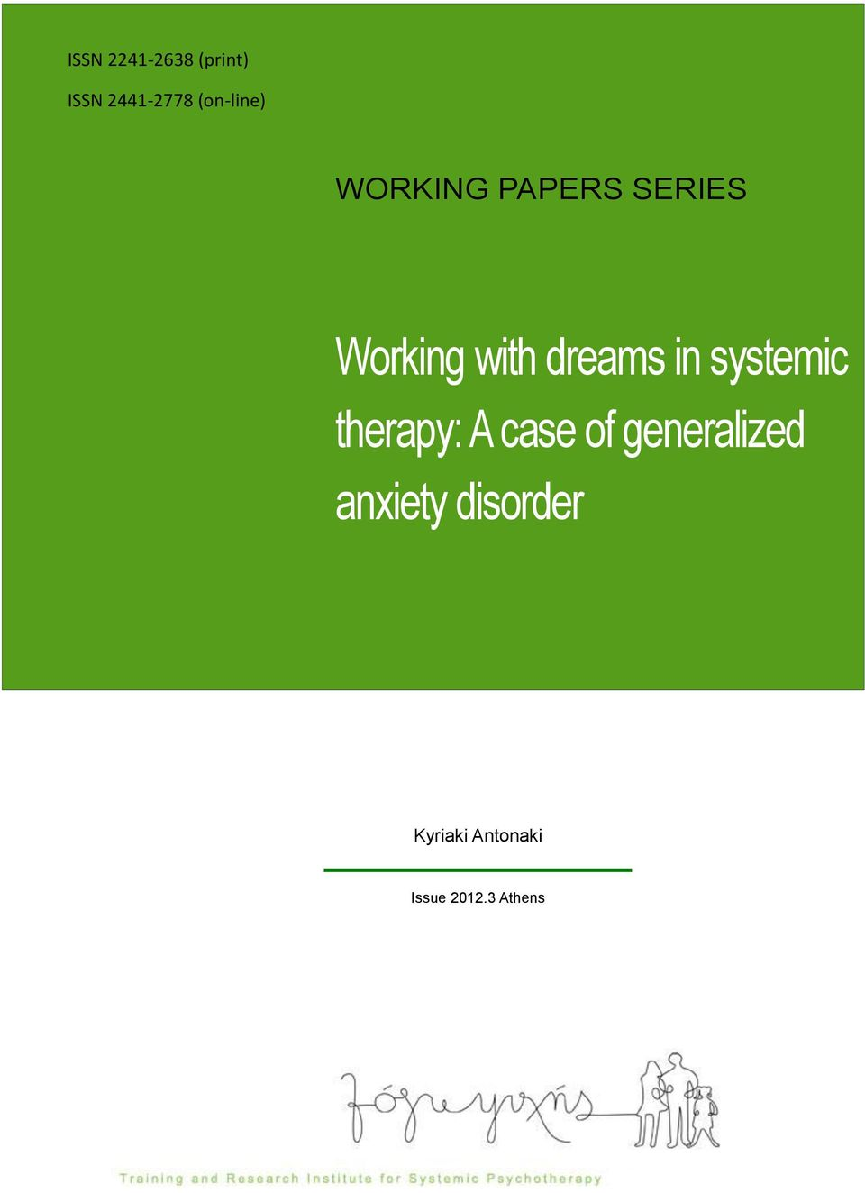 dreams in systemic therapy: A case of